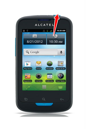 Hard Reset for Alcatel OT-988 Shockwave