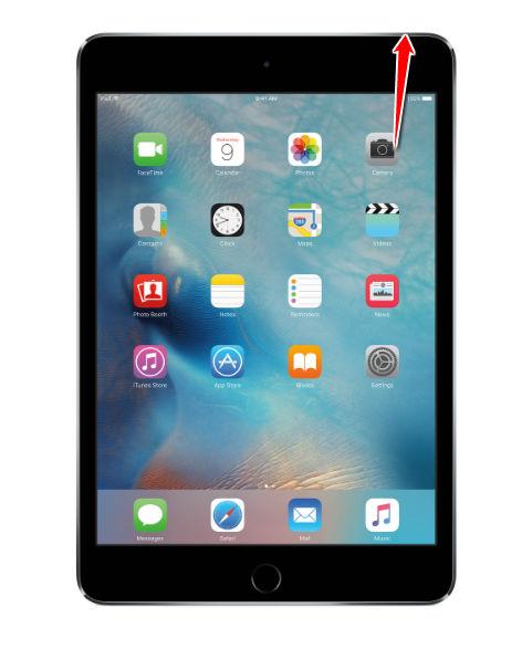 Hard reset apple ipad mini 4