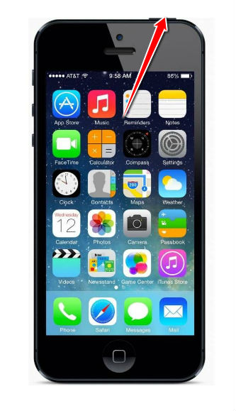 reboot iphone 5 reset for apple iphone 5 12833