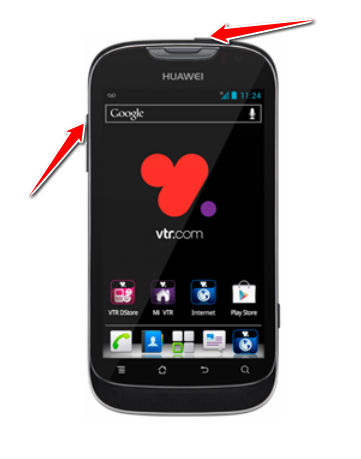Recovery for huawei ascend