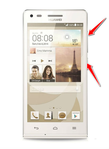 Hard Reset for Huawei Ascend G6