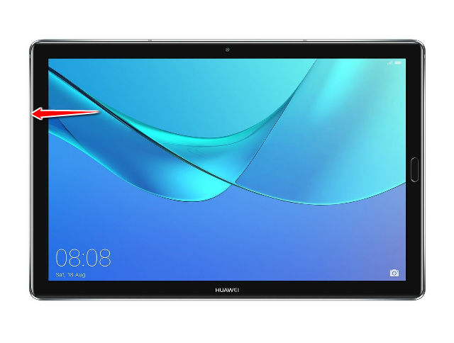 How to reset settings in Huawei MediaPad M5 10