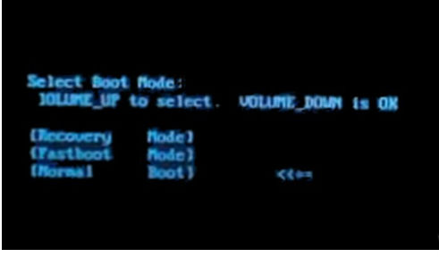 How to put Lenovo K6 Note in Bootloader Mode