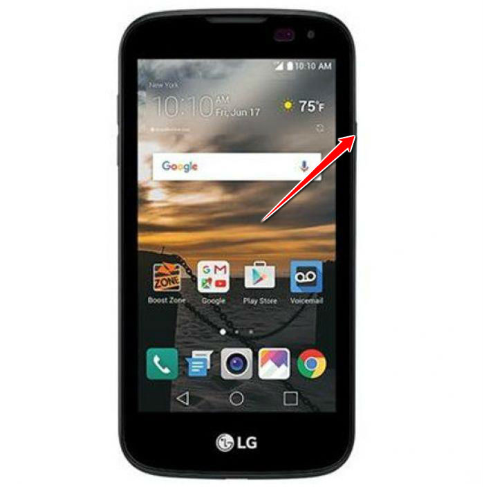 How to put LG K3 in Fastboot Mode