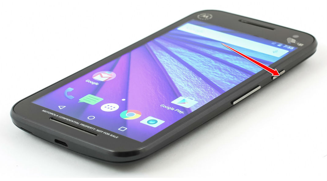 Hard Reset for Motorola Moto G (3rd gen)