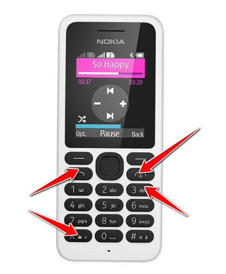 Hard Reset for Nokia 130 Dual SIM