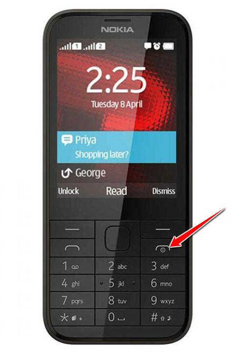 Hard Reset for Nokia 225 Dual SIM