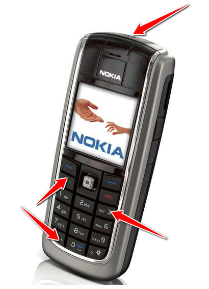Hard Reset for Nokia 6021