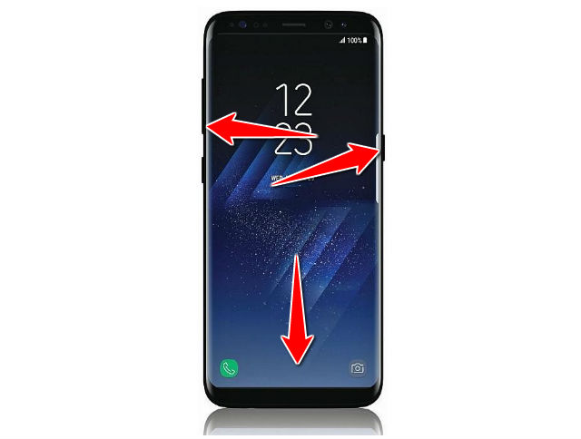 Hard Reset for Samsung Galaxy S8