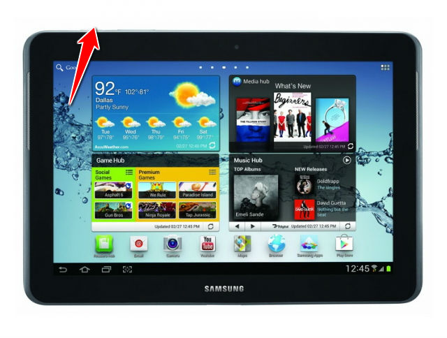 How to Soft Reset Samsung Galaxy Tab 2 10 1 P5110