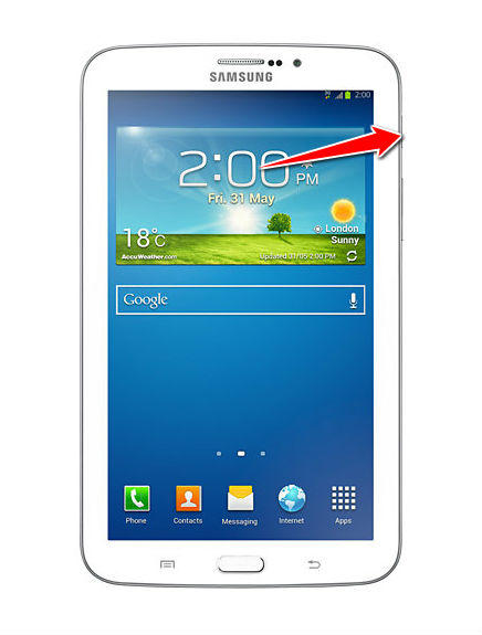 How to Soft Reset Samsung Galaxy Tab 3 7 0