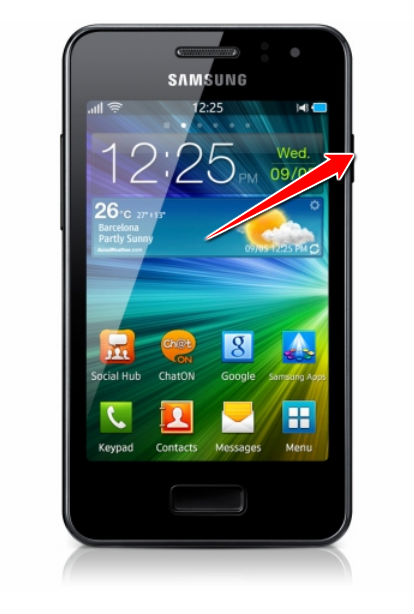 Hard Reset for Samsung Wave M S7250