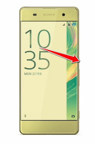 How to put Sony Xperia XA Dual in Fastboot Mode