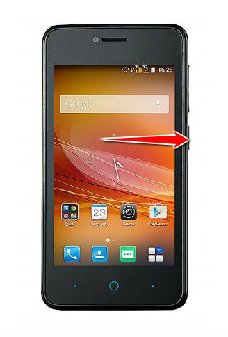 Hard Reset for ZTE Blade A5