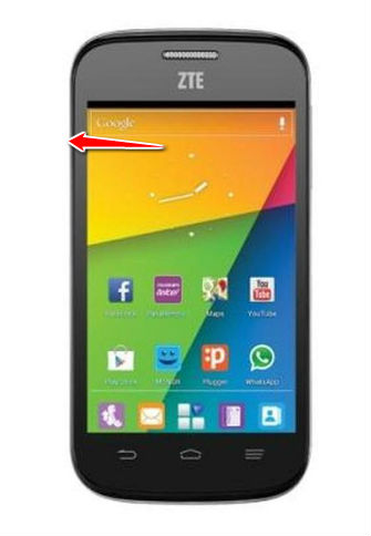 How to put ZTE Blade C2 V809 in Factory Mode