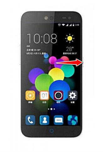 Hard Reset for ZTE Blade C V807