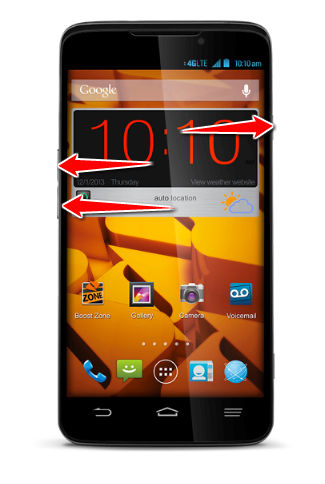Hard Reset for ZTE Iconic Phablet