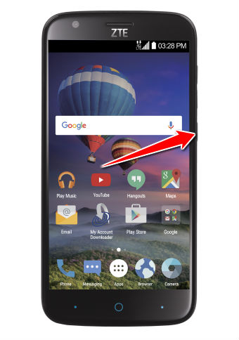 How to put your ZTE Zmax Champ Z971 into Recovery Mode